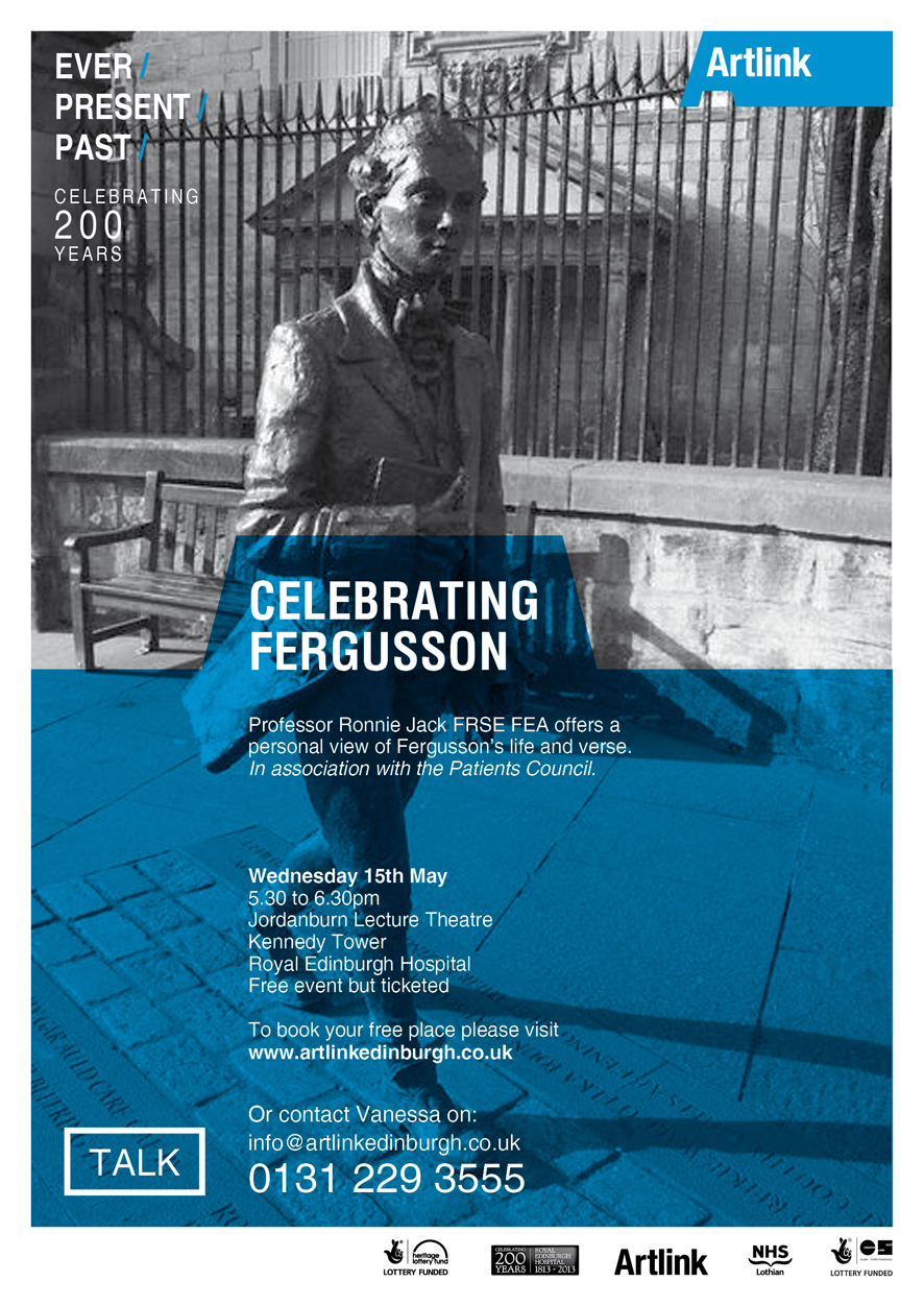 Celebrating Fegusson talk poster