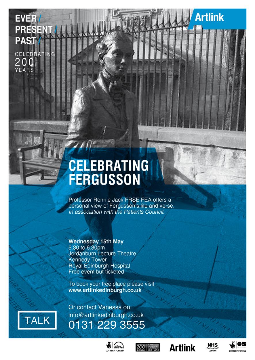 Celebrating Fegusson talk poster